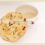 Hot Sale Thermal Shield Bamboo Coaster to Putting Cup