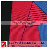polyester and polyester bamboo charcoal spandex jersey fleece fabric with wicking