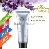 Lavender hand and foot snow whitening cream