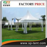 China Manufacture Outdoor party event marquee manual assembly 3x3m blue gazebo tent for party