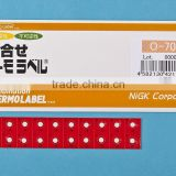 Temperature sticker used in power distribution block/Irreversible and Reversible combined/Waterproof