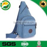 210D promotional canvas men's Chest Bag