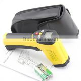 HT-819 Industrial LCD Digital Non contact Gun Infrared Thermometer Price with Dual Laser Targeting