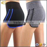 Ecoach Womens Yoga Shorts Fitness sweat-wicking Hidden waistband pocket GYM Workout cotton Shorts Pants
