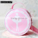 2016 Wholesale Girl's Pink Round Fashion kid eco bag