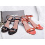 INQUIRY about Wholesale newest high quality Chanel replica summer shoes woman leather sandals Chanel, fashion Chanel replica woman shoes sandals retail