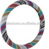 Colorful Cotton Steering Wheel Cover
