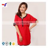 Chinese red anti-electromagnetic radiation maternity clothing