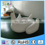 HOT Giant Inflatable Toy White Swan , Inflatable Happy Rides On Animal