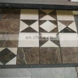 Mixed stone mosaic tiles