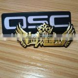 Custom casting forge product aluminum name car logo pin