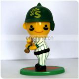 S-oil Character Baseball figurine by plastic factory manufactured