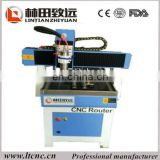 New design advertising cnc router with ball screw transmission for cutting acrylic