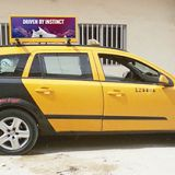 Double Sided P5mm Car Roof Sign In Cote d'Ivoire   Taxi Topper Display