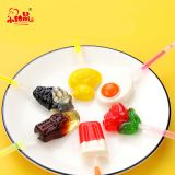 Ice Cream / Rose / Egg / 3D Drink Bottle / Duck Light Lollipop Candies