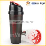 Plastic Custom Protein Shaker With Filter                                                                         Quality Choice
