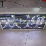 P10 P16 P20 P25 outdoor double sided led sign usb mini led programmable sign display board