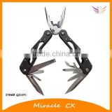 Black handle with 4 holes multi function tool