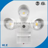 Manufacturing white coffee brown painting sensor outdoor security light installed wall led lighting