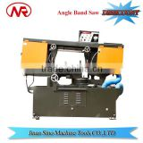 G-330 manual swivel head mitering used wood and metal cutting band saw machine