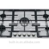 Built in Gas Hob with Knobs Control/Gas Stove/Gas Cooktop/Gas Cooking hob with 5 Burners