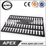 Acrylic Lacquered Stainless Steel Rotating U-disk Tray For UV Printer