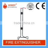 Iron steel fire extinguisher wall bracket spare parts for fire fighting equipment