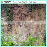 Hexagonal retaining wall wire netting/ fly wire netting/rock fall protection Hexagonal Rockfall Wire Netting