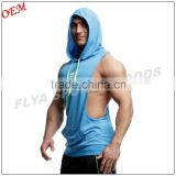 Sleeveless Vest Hoodie,Gold Gym Singlet,Muscle Racerback Mens Dri Fit Gym Stringer Hoodie Fitness Pullover Hoodie                                                                         Quality Choice                                                     Mo