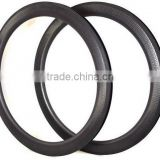 SRTC 45 carbon dimple rim 45mm tubular and clincher 25mm width dimple bicycle rim light weight road bike rim