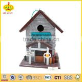 Spring nice garden wood bird house