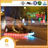 Unisex casual led shoes 2016 kids led flash shoes children led shoes