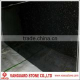 Natural granite black galaxy slabs