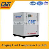 Wholesale high quality screw belt driven air compressor machine oil lubricated