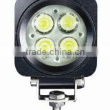 12w led work light, Flood light auto headlight, 12w led driving light for boats 4x4 truck, Trailer