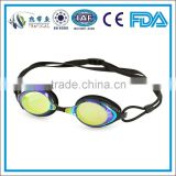 Adult hot selling racing swim goggle,training trithalon competition water sport eyewear 5123DM