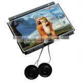 small screen 8 inch lcd monitor stand alone media player advertising sign digital picture frame video screen