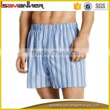Wholesale low MOQ pure colors vertical stripes formal men beachwear