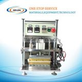 Compact Lab top and side Sealing Machine to pre vacuum seal pouch lithium cell,battery lab machine