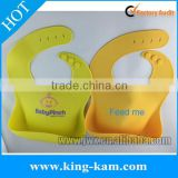 Pantone color available silicone baby bib pack wholesale