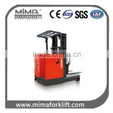 Electric forklift with triplex full free mast TF
