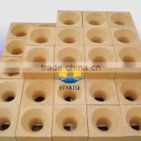 Refractory fire clay bricks for furnace hot blast stove