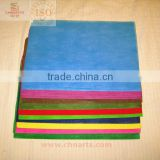 multi-colored non woven fabric Polyester craft felt shjeet