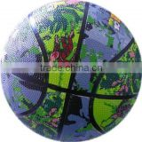 customized rubber basketball ball prices