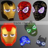 LED super hero flash light Mask