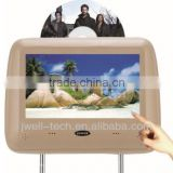 "9"" headrest DVD player monitor with HDMI and touch optional"