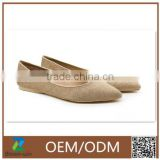 OEM ODM new arrival popular ballet flats non-slip shoes /shoes women casual flat