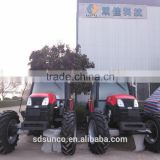 YTO 100 hp Wheeled Farm tractors,YTO-1004 Tractrors with Aircab