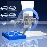 2015 new design Acrylic Sunglasses Display Holder Eyewear Display Stand Glasses Display RJW009
