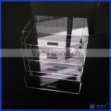 factory wholesale popular acrylic the beauty cube w/ DIVIDERS